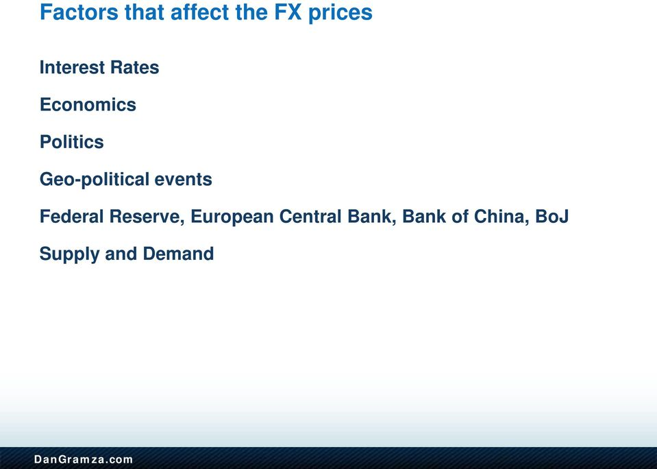 Geo-political events Federal Reserve,