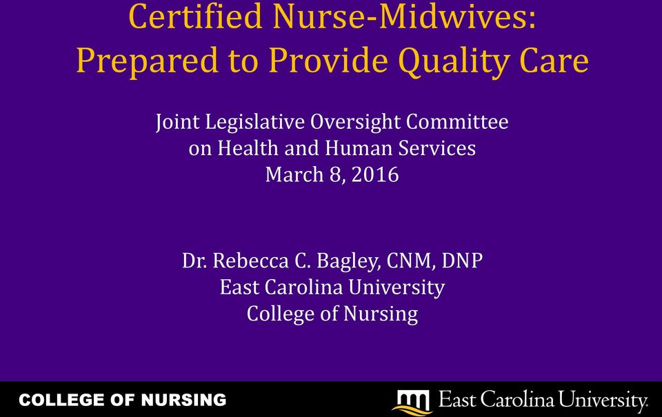 and Human Services March 8, 2016 Dr. Rebecca C.