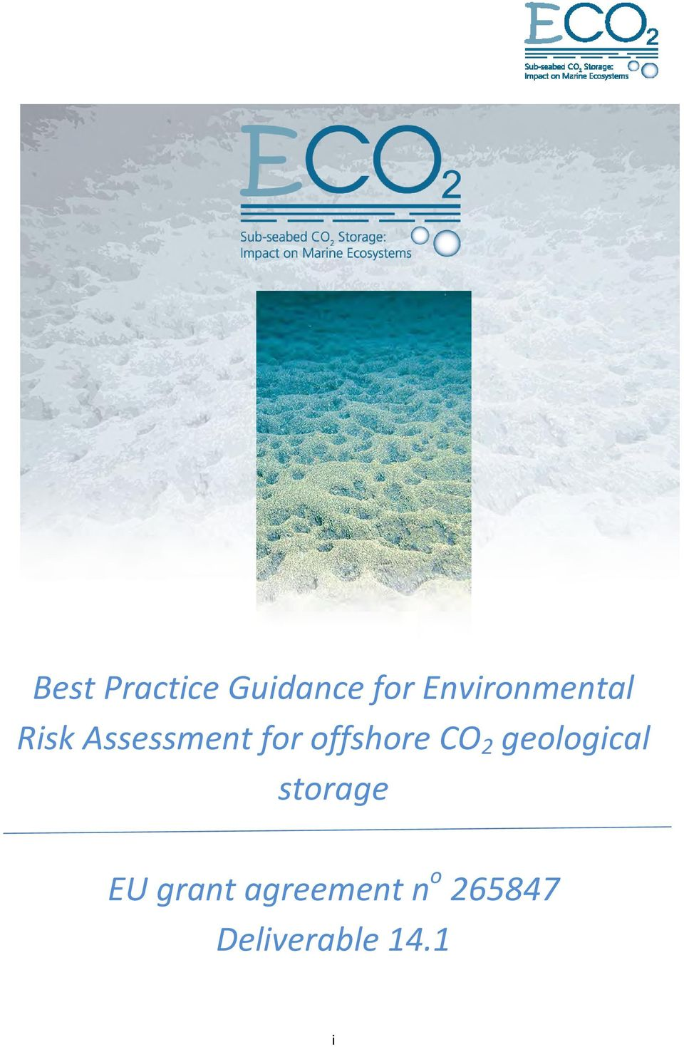 offshore CO 2 geological storage EU