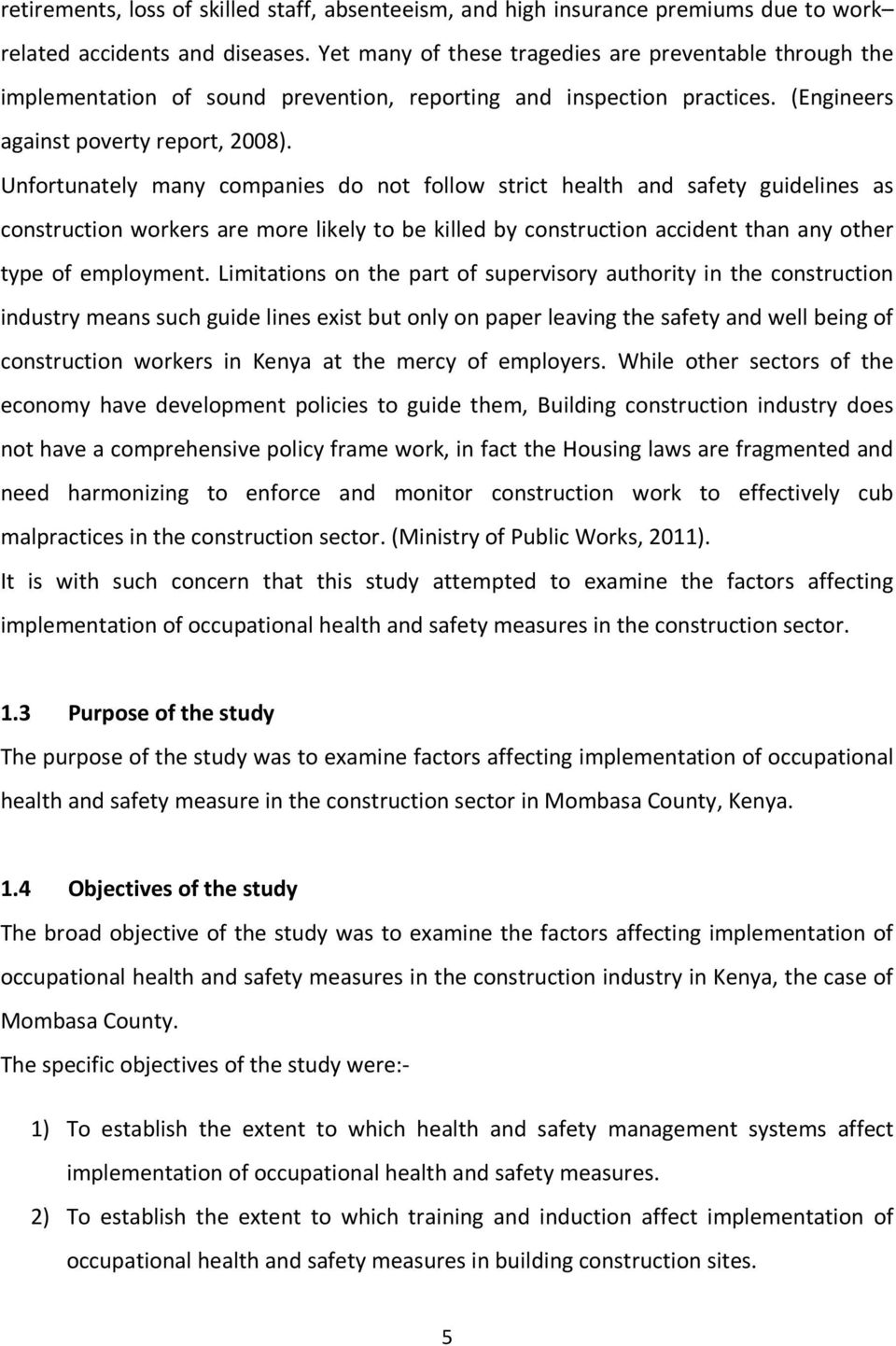 Safety in maldives construction industry construction essay