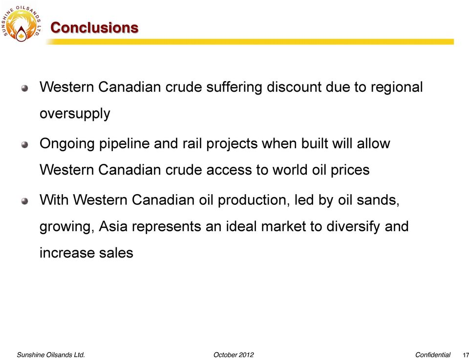 to world oil prices With Western Canadian oil production, led by oil sands, growing,