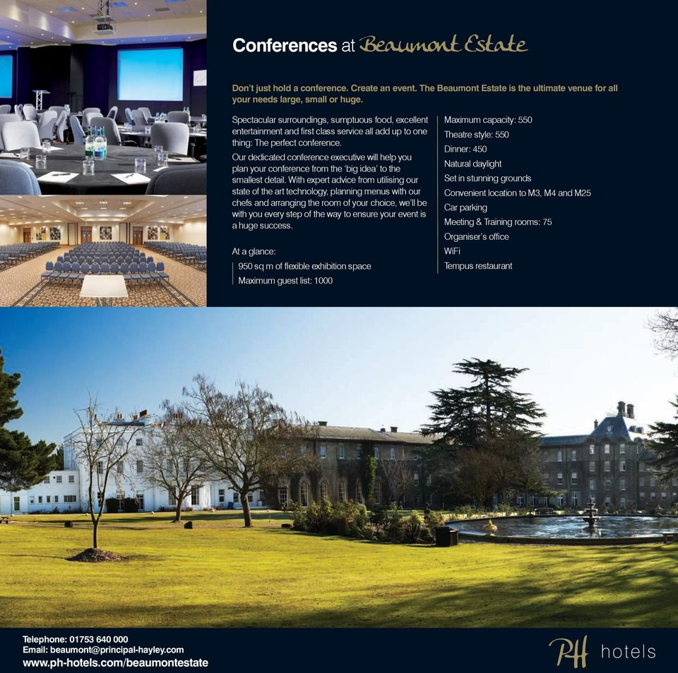 Our dedicated conference executive will help you plan your conference from the big idea to the smallest detail.