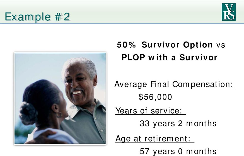 Compensation: $56,000 Years of service: