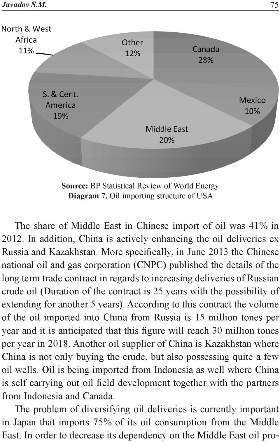 More specifically, in June 2013 the Chinese national oil and gas corporation (CNPC) published the details of the long term trade contract in regards to increasing deliveries of Russian crude oil