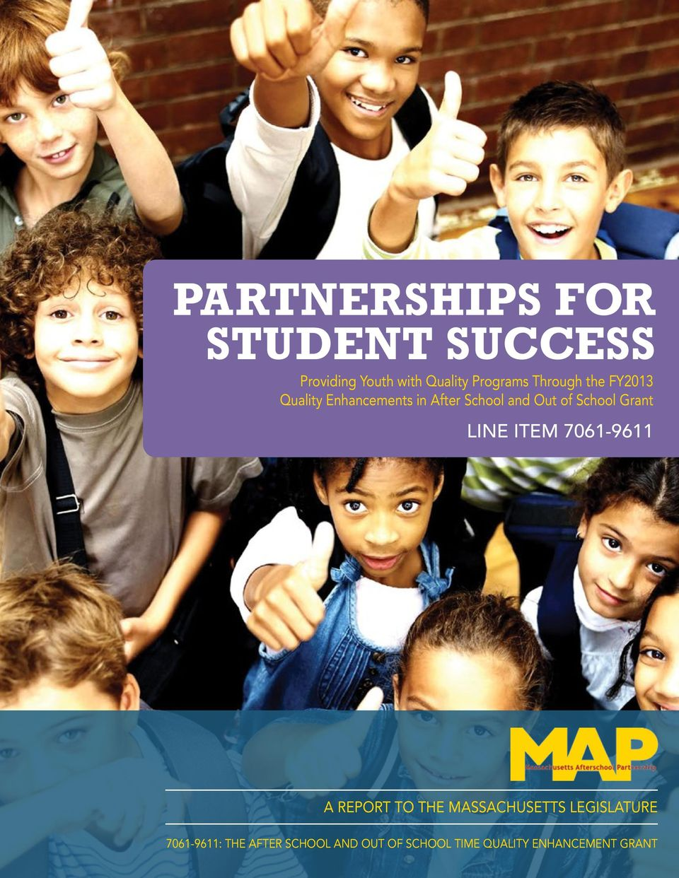 PARTNERSHIPS FOR STUDENT SUCCESS Providing Youth with ...