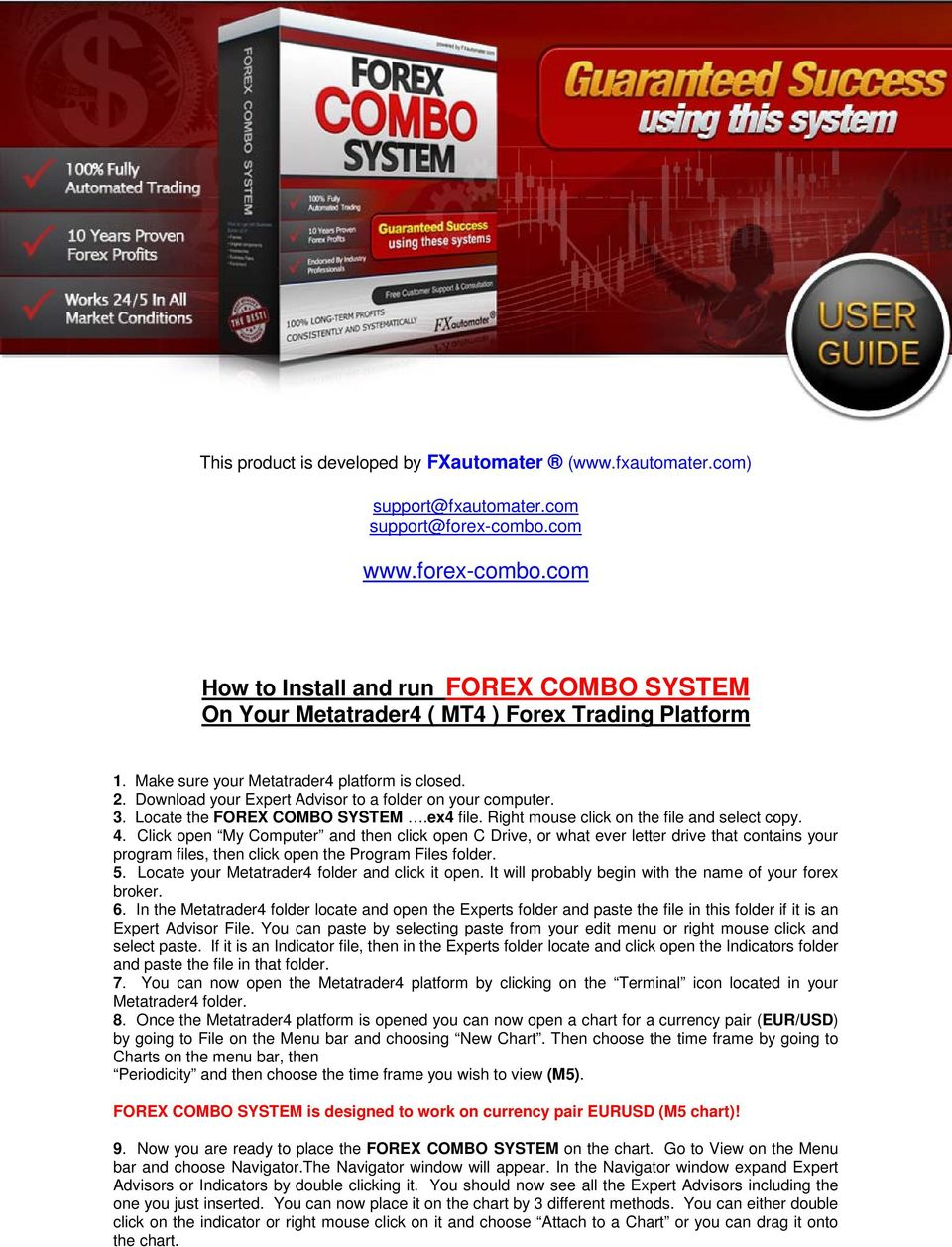 Forex combo system download