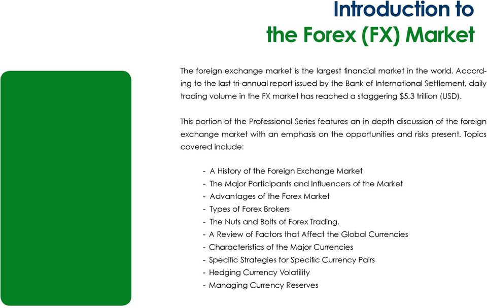 Major participants in indian forex market