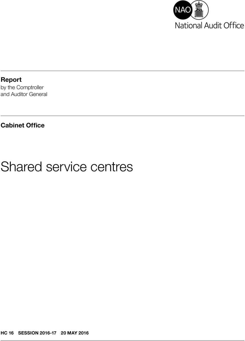 Office Shared service centres