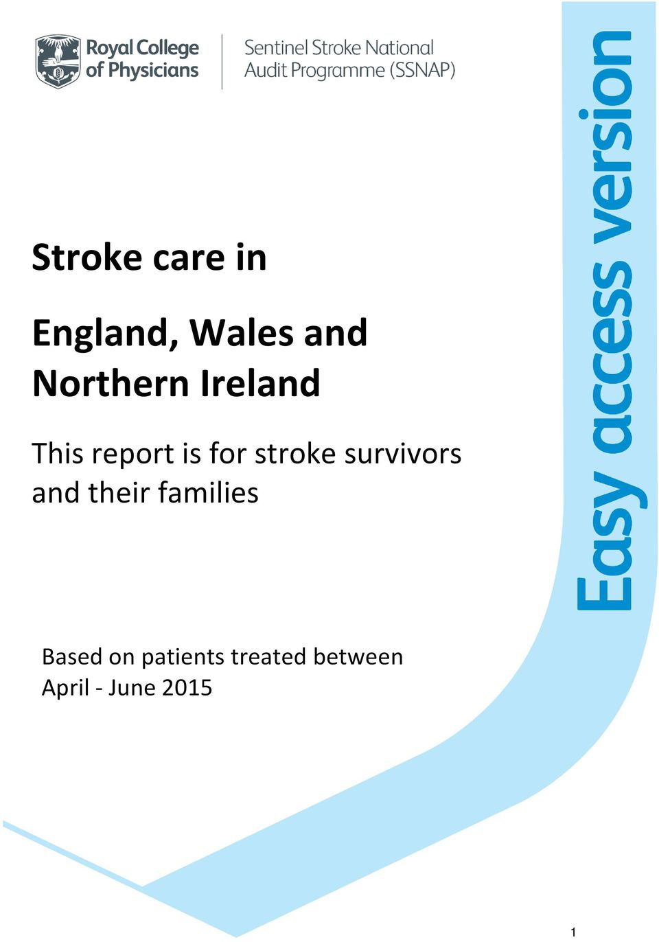 stroke survivors and their families