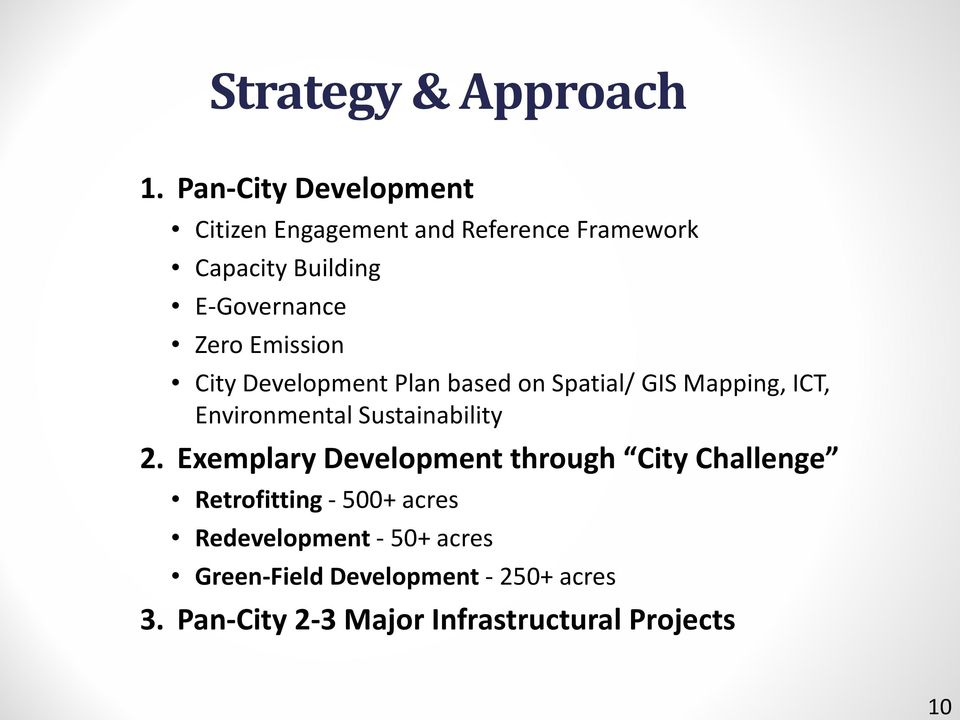 Emission City Development Plan based on Spatial/ GIS Mapping, ICT, Environmental Sustainability 2.