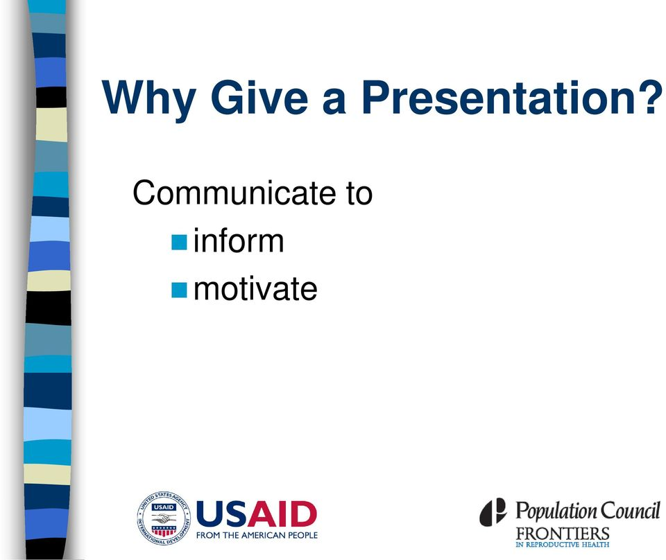 how to prepare scientific presentation