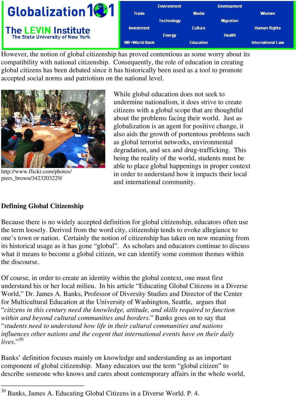 global education brief. contents. by rosanna capalbo - pdf