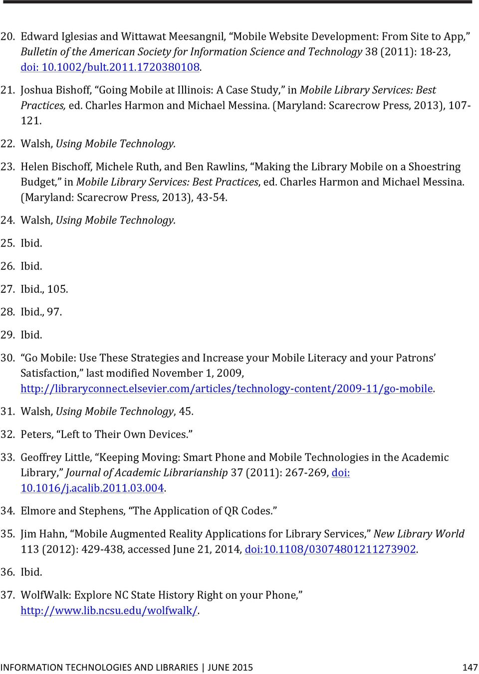 A library in the palm of your hand mobile services in top 100 university libraries pdf