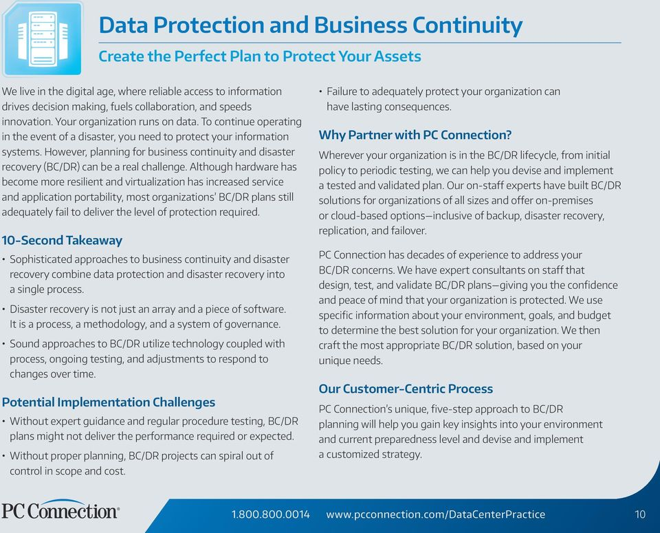 Essential guide to business continuity and disaster recovery plans