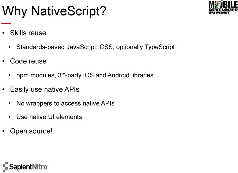 TypeScript Code reuse npm modules, 3 rd -party ios and