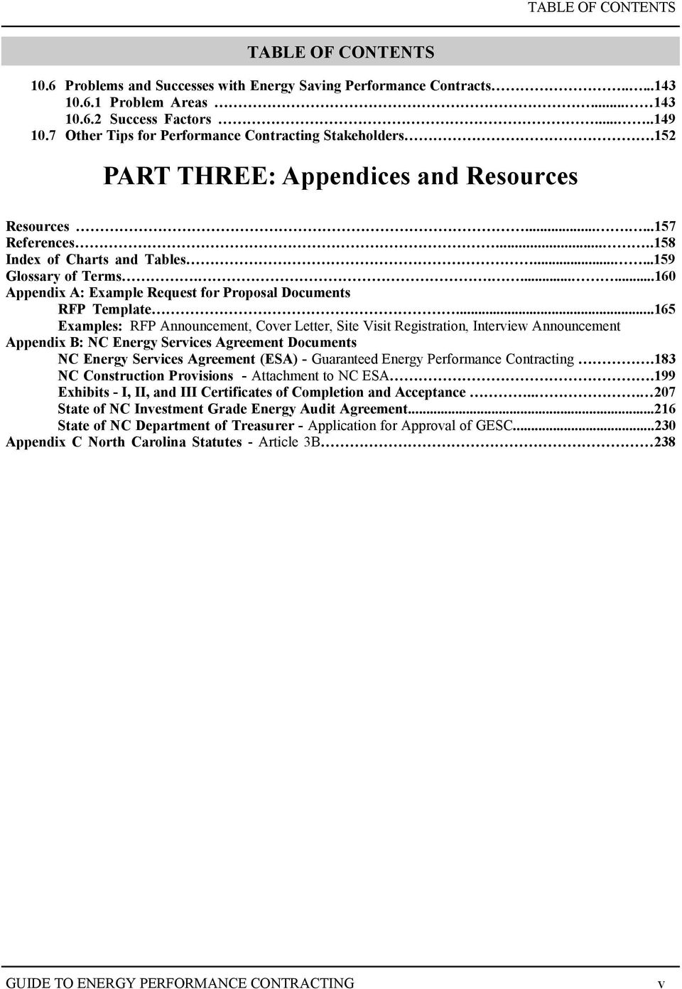 Appendix for research proposal