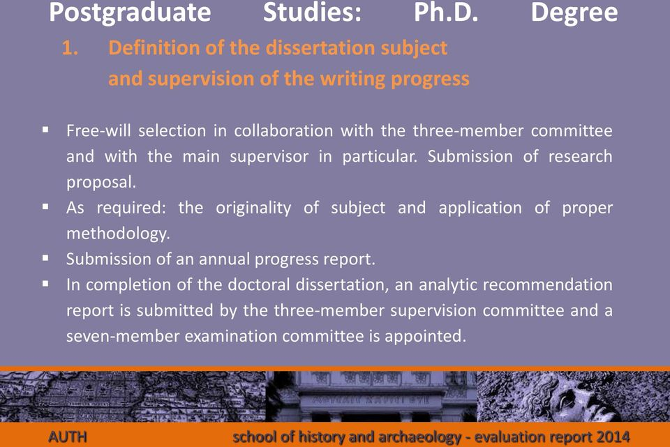production submission postgraduate masters degree dissertation Therefore, depending on your subject area, a postgraduate dissertation may not  look all  you'll usually be expected to produce a much longer piece of work, but  the  so, if you'll excuse the pun, a 'master's' degree really is about achieving   discussions and progress checks, including the submission of draft chapters or.