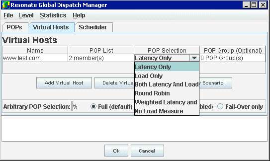 Global Dispatch Scheduler Intelligently managing global traffic Figure 2: Traffic Scheduling decision flow With Load Balancing Rules If neither persistence nor directed traffic features have been