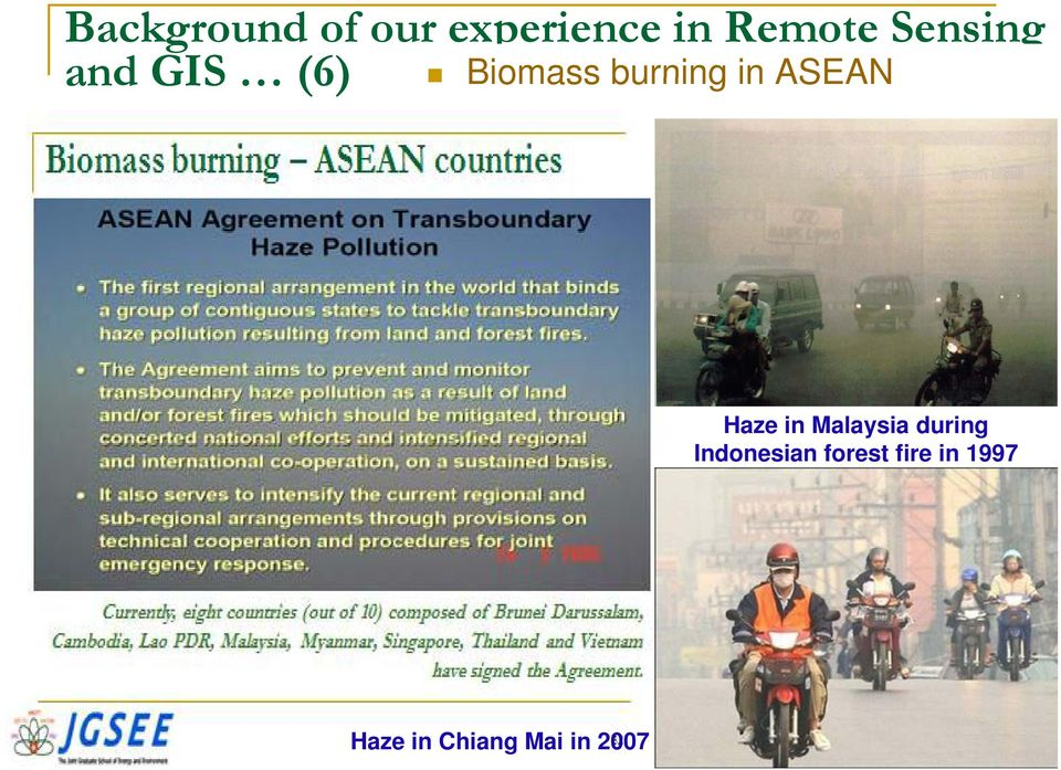 ASEAN Haze in Malaysia during Indonesian