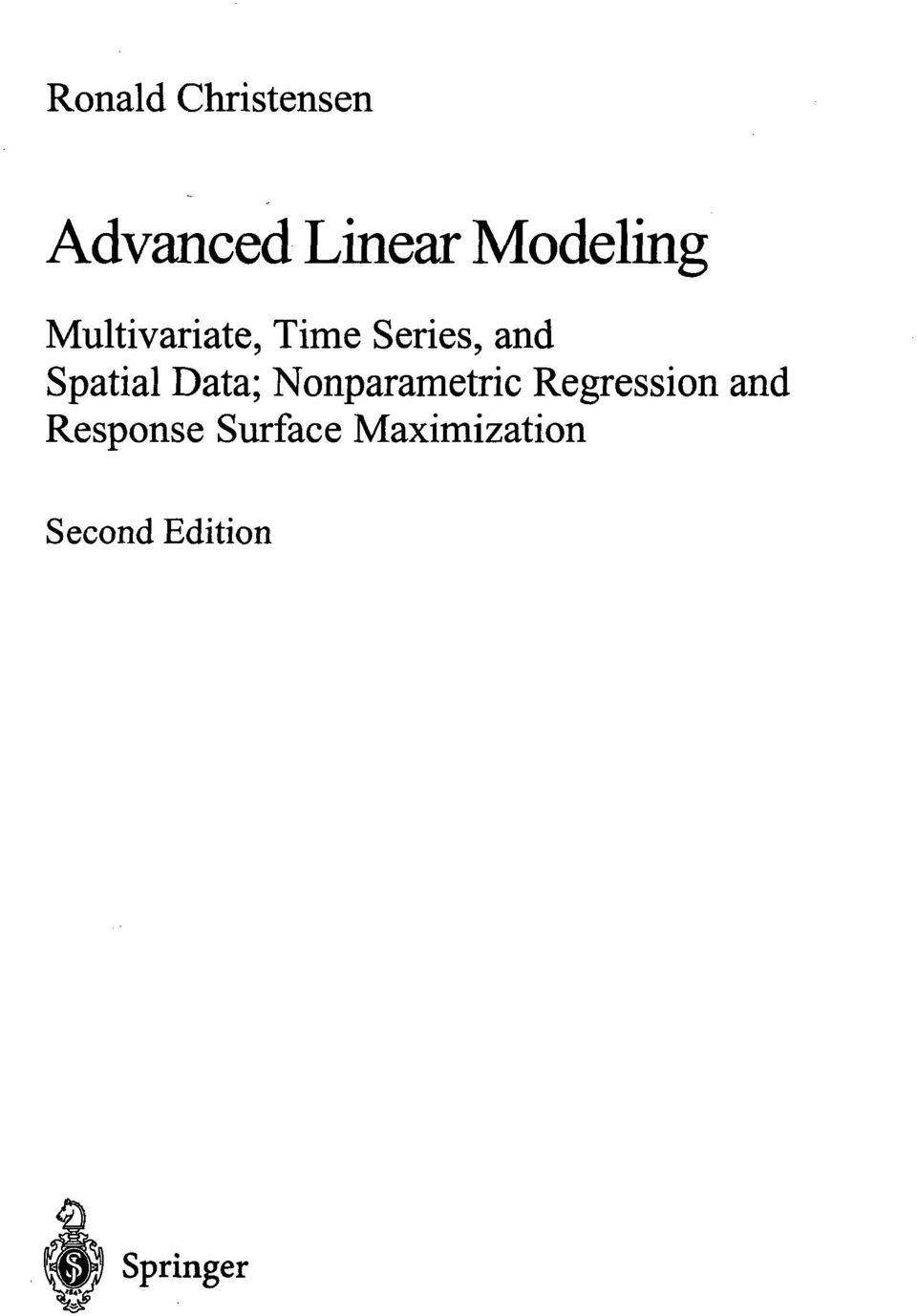 Spatial Data; Nonparametric Regression and