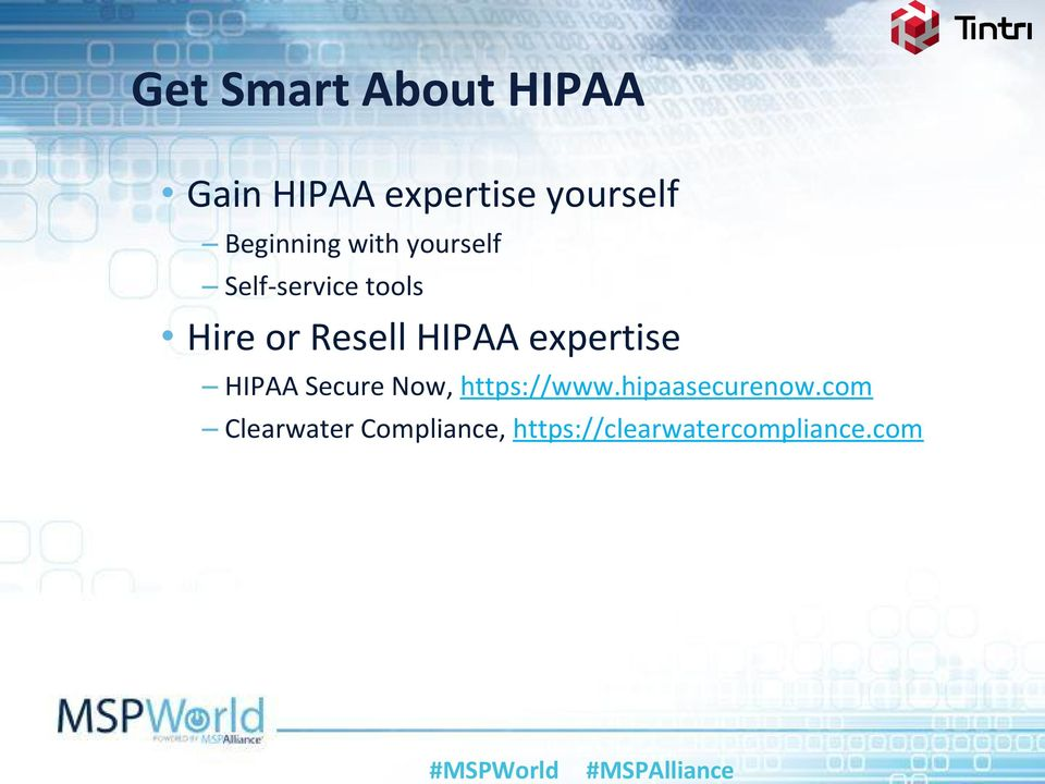 HIPAA expertise HIPAA Secure Now, https://www.