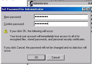 Change the local administrator s password as desired and click OK 3) Click the Join Domain button and