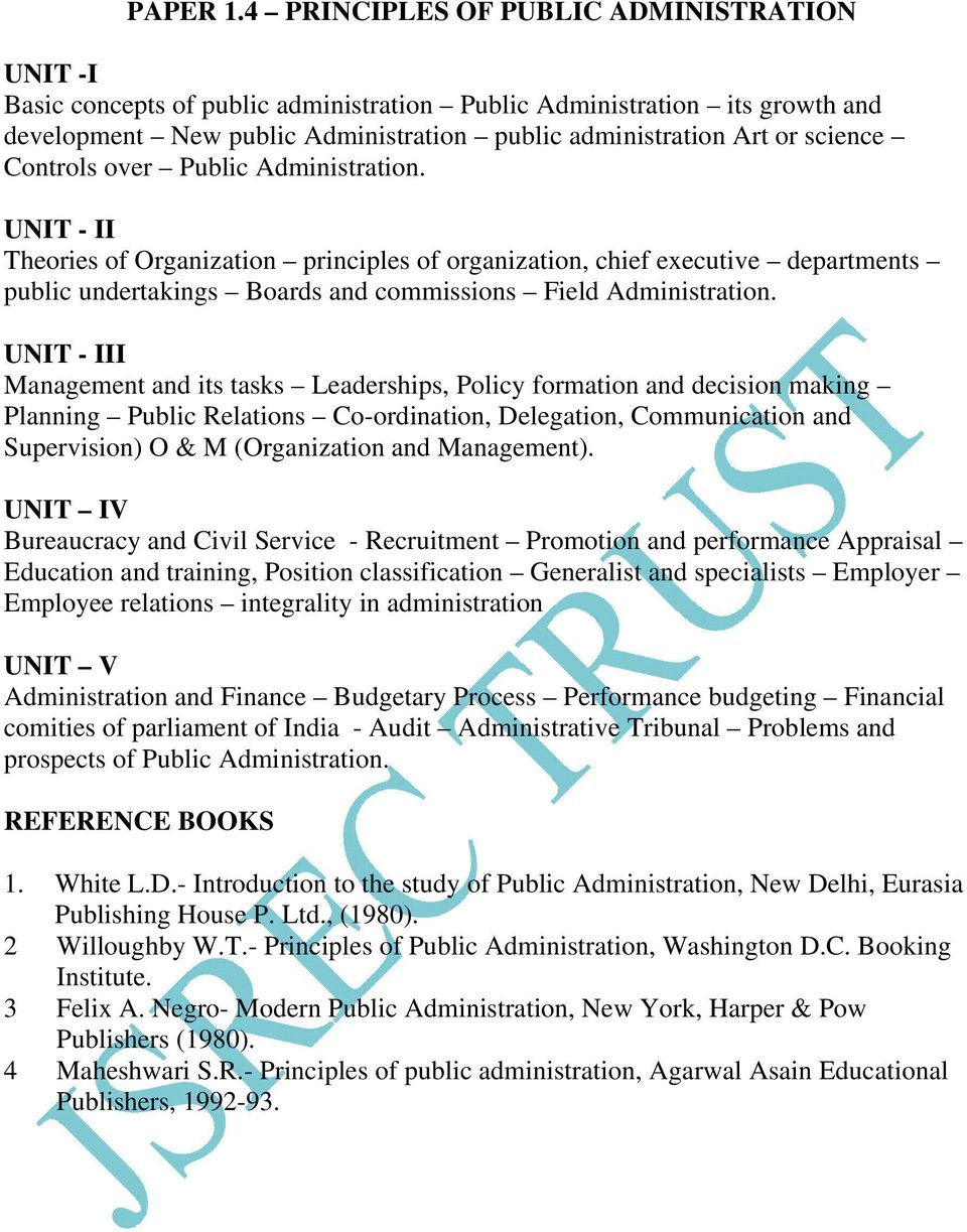 contemporary problems in public administration Full-text paper (pdf): four challenges to accountability in contemporary public  administration: lessons from the united states and china.