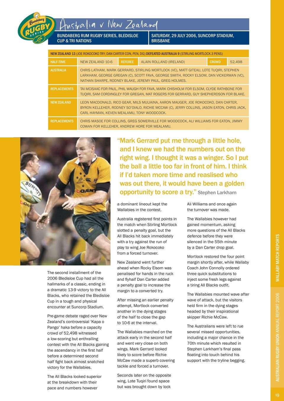 robe australia annual report pdf