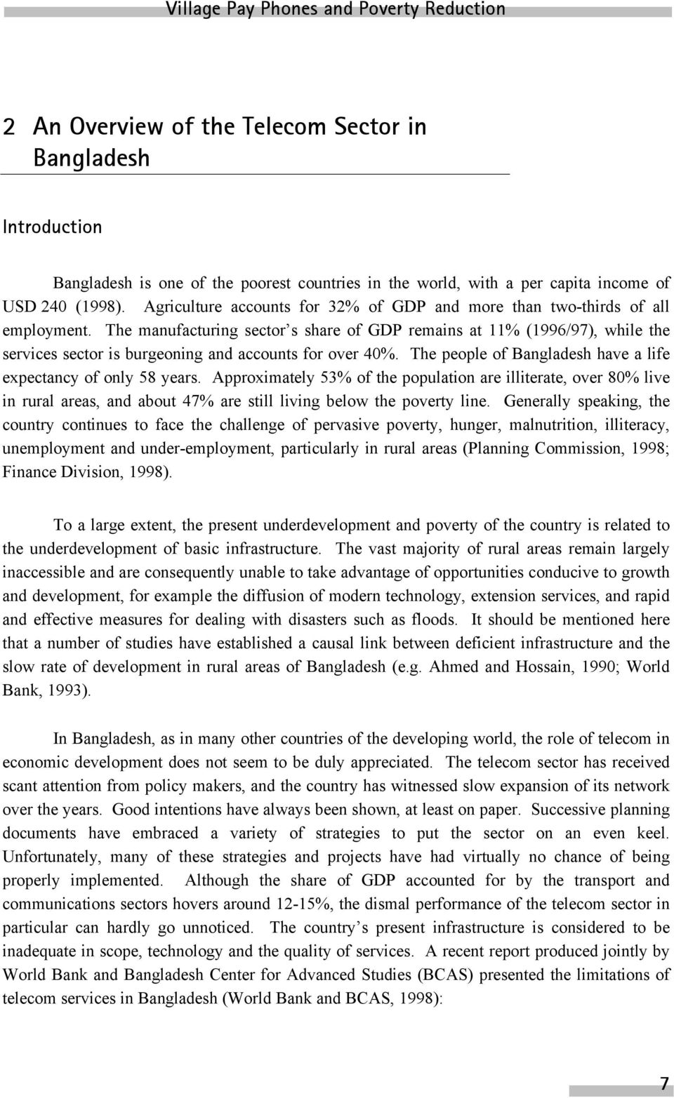Sample Essay on Poverty