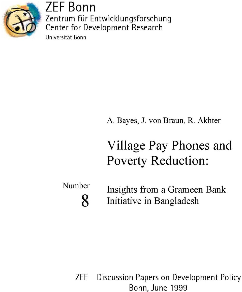research paper grameen bank The allegations against muhammad yunus and grameen bank were made in a context where some people began to question profile and papers at research papers in.
