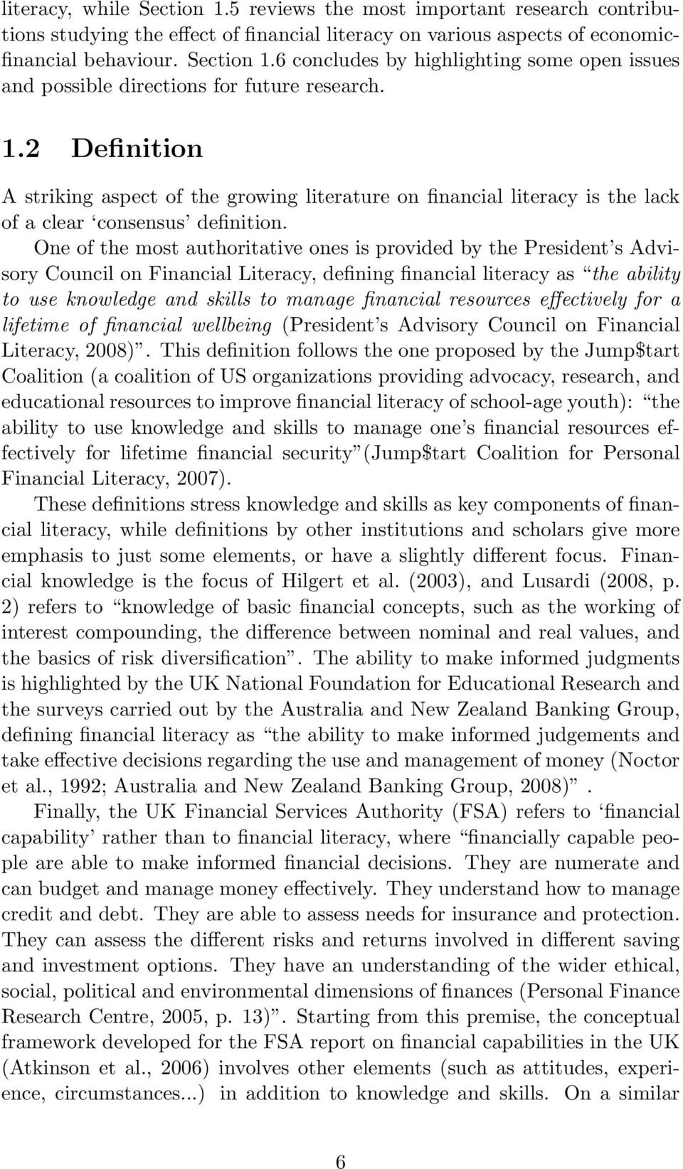 chiara monticone financial literacy and financial advice. theory and