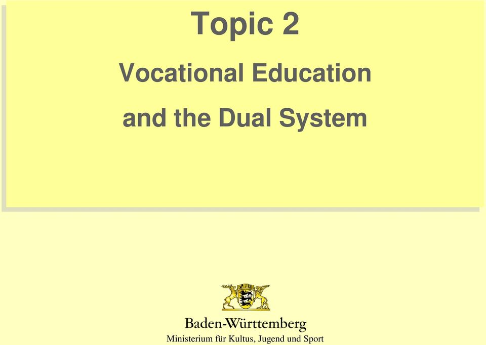 essay about vocational education Every man must have a vocation – a trade, a business, or a profession – in order to earn his livelihood there are institutions for imparting various types of specialized training to help men qualify for this.