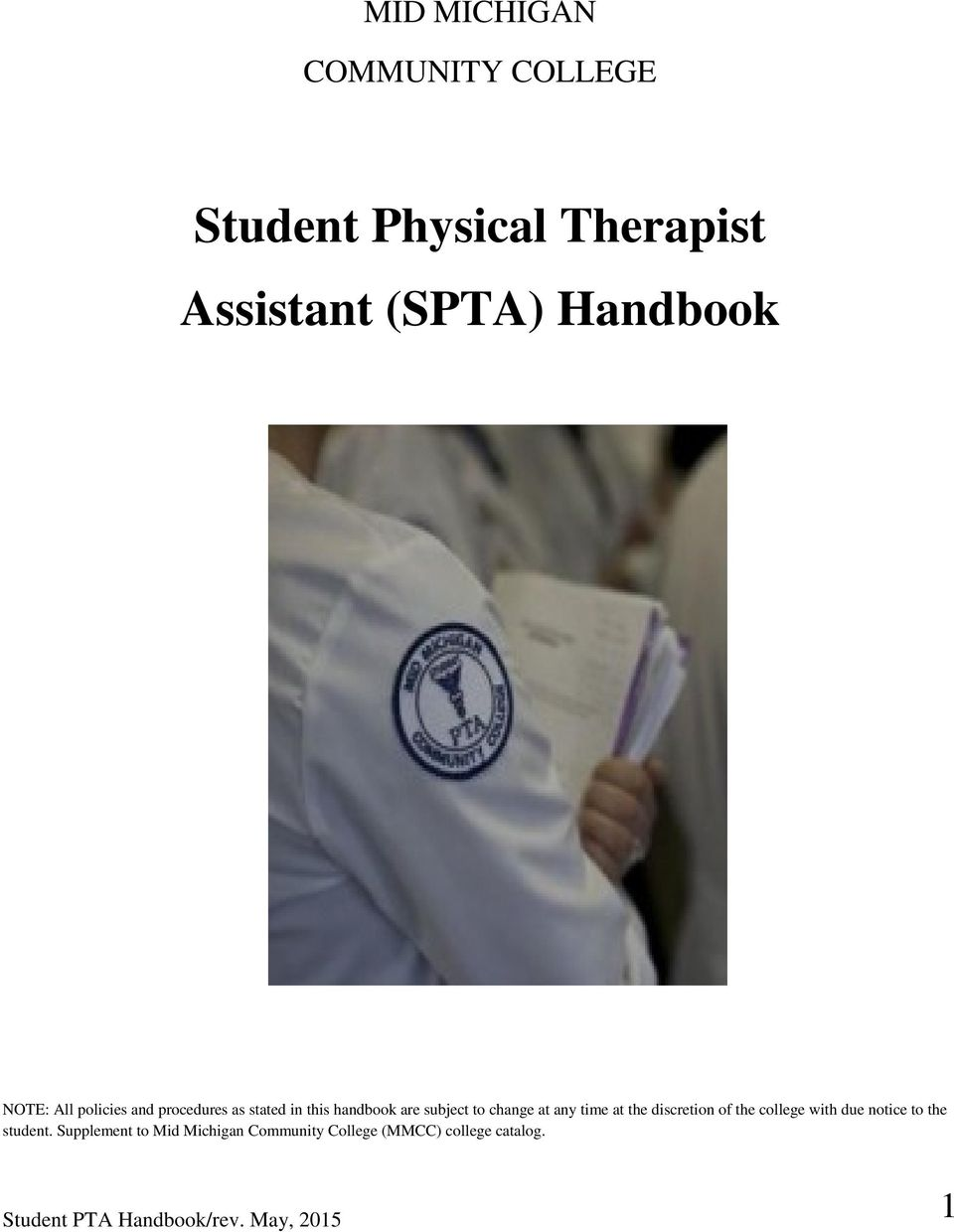 Physical Therapist Assistant physics subjects college