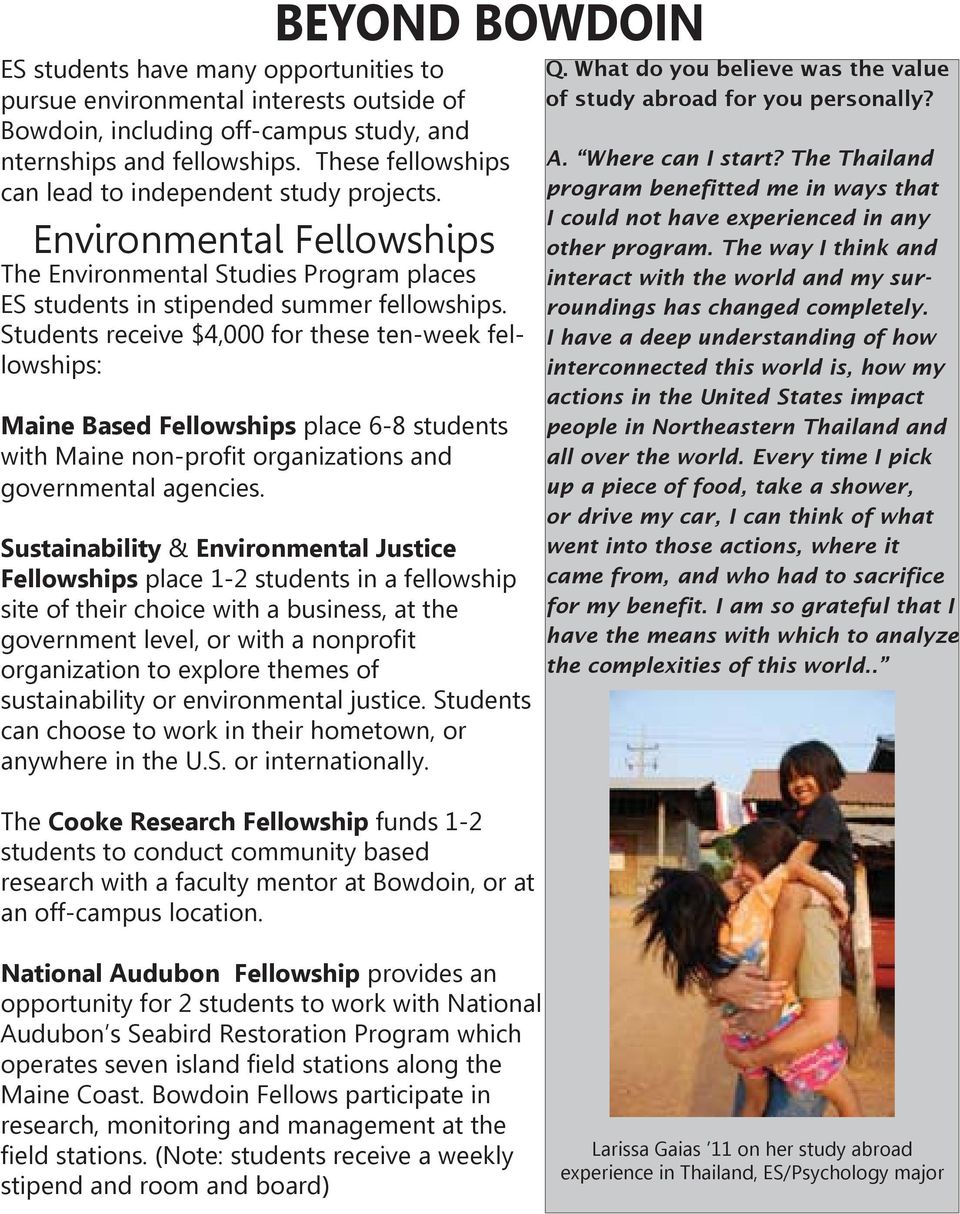Environmental Health what does majoring in business mean