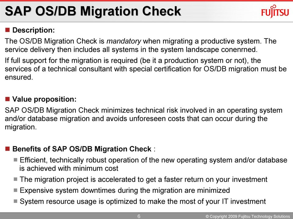 Sap Migration To Novell Linux Value Proposition And