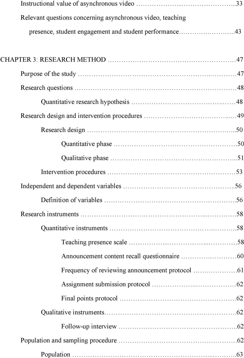 qualitative research interview protocol template - examining the role of the introductory video in the