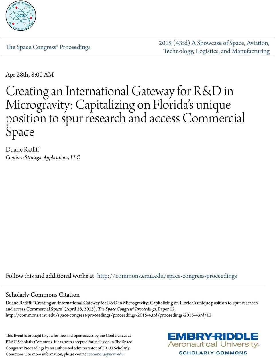 microgravity research paper