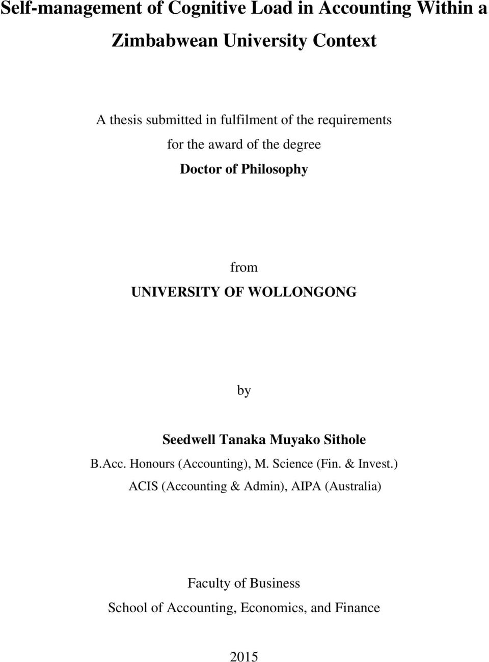 thesis submitted degree doctor philosophy