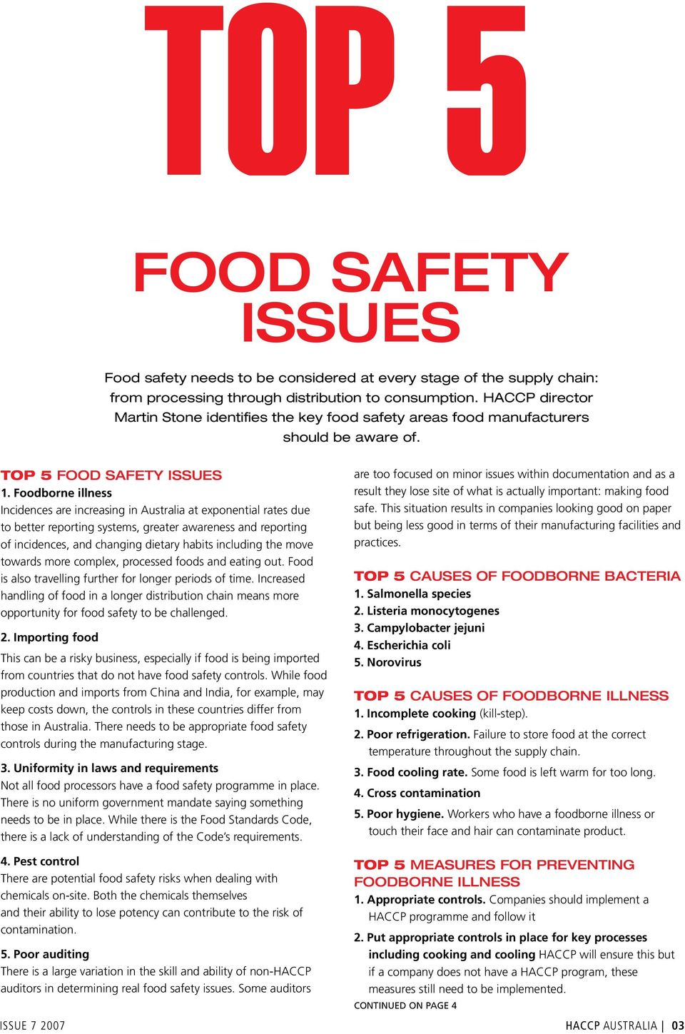 food and safety bulletin Food safety no 2015 – 1 sustainable food security and food safety, from world organisation for animal health and,and oie bulletin 2015 • 1, as , (the.