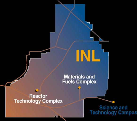 Idaho National Laboratory Today the Site Supports Three Focused National Missions * SITE 890 square miles, ~4800 ft elevation 111 miles of electrical transmission and