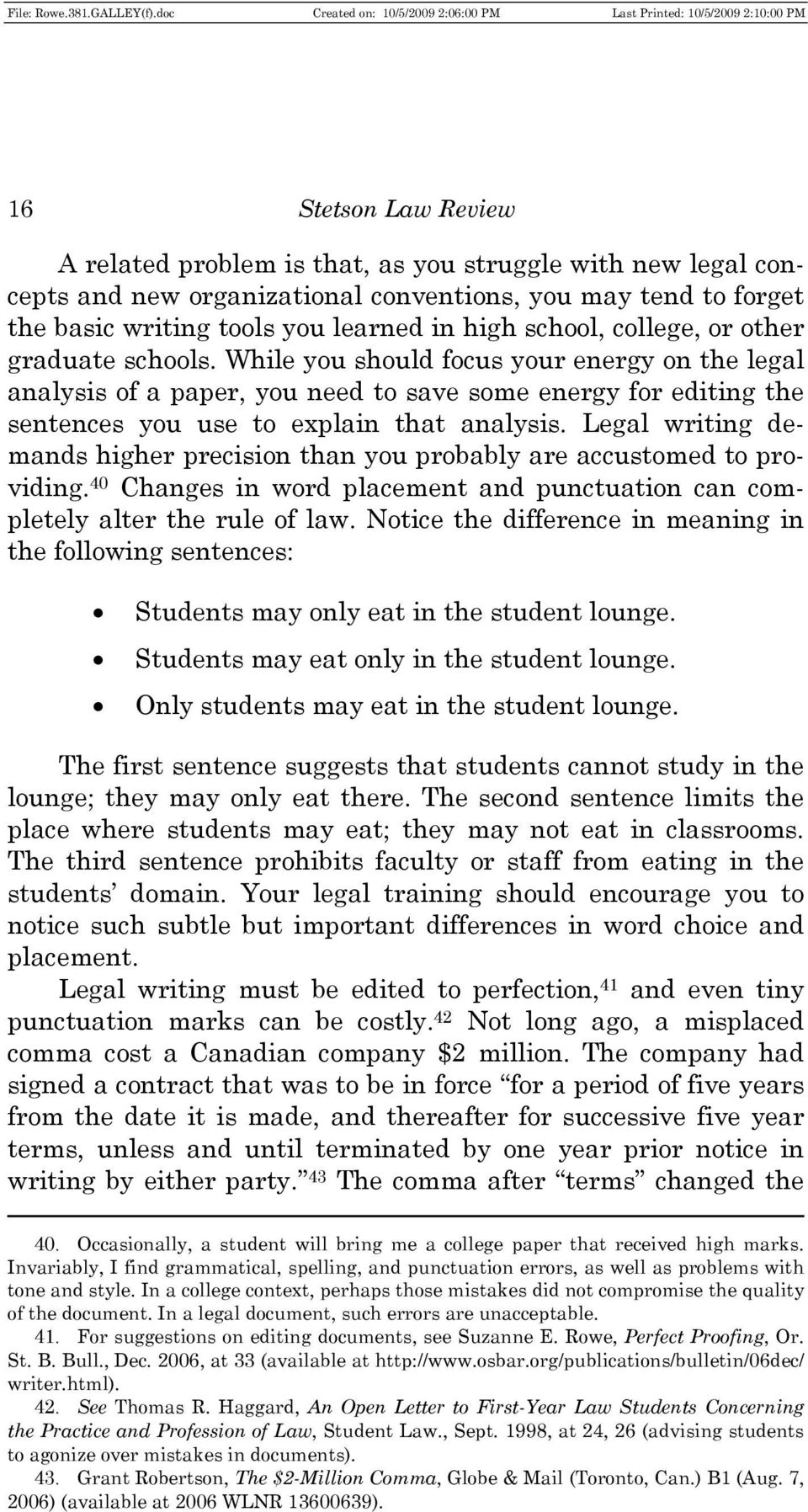 Putting Research into Practice papers