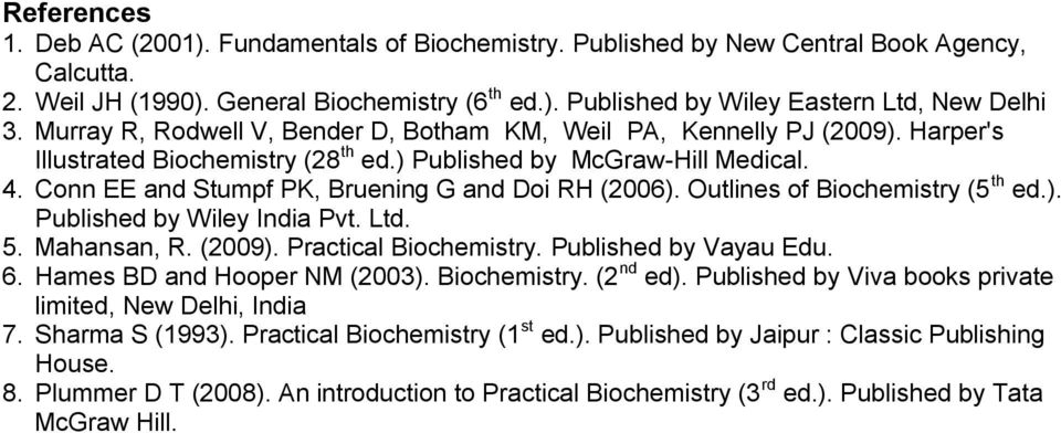 An introduction to practical biochemistry by david t.plummer