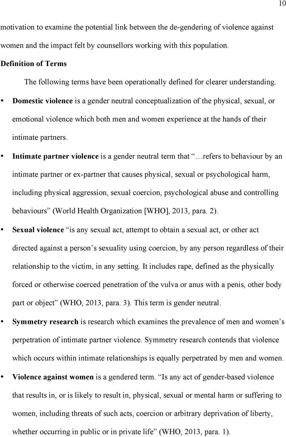causes of domestic violence in nigeria pdf