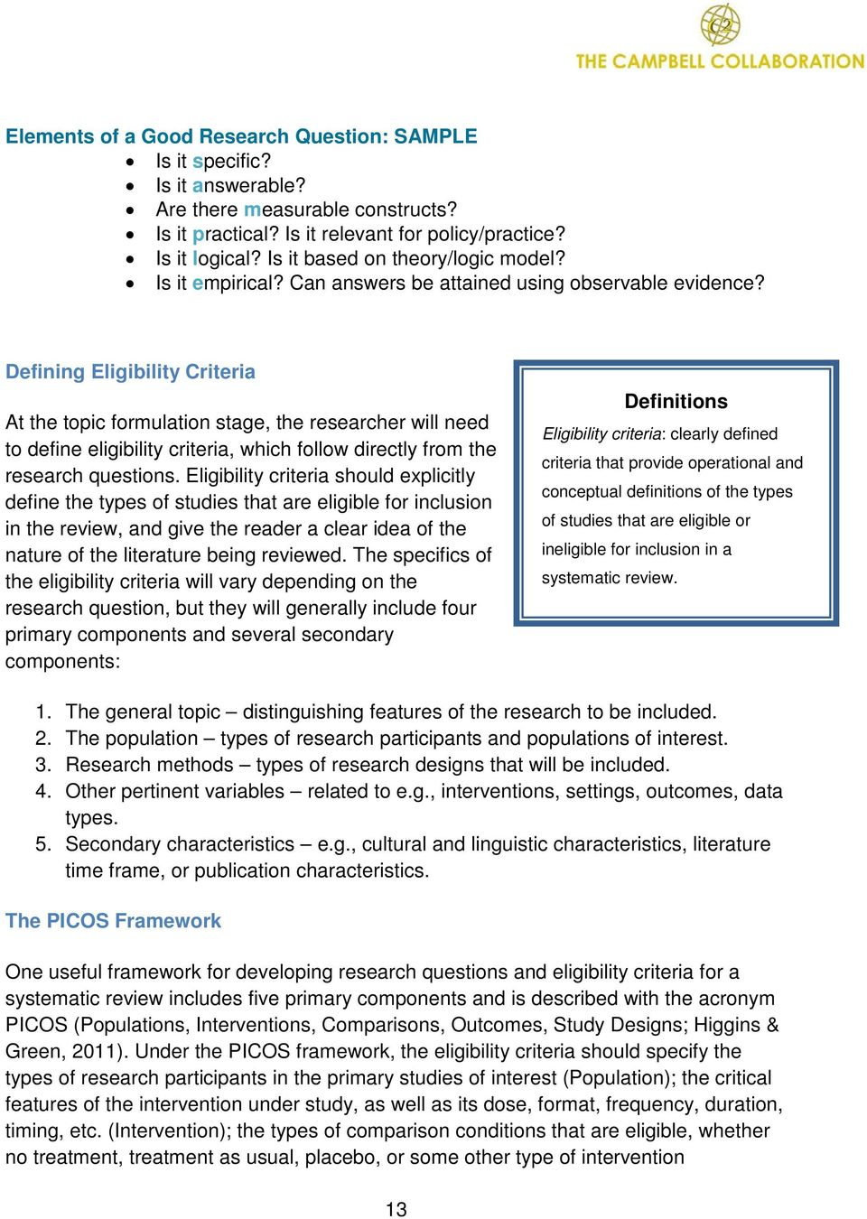 how to define search strategy in a systematic review