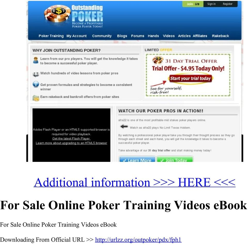 Best poker training online