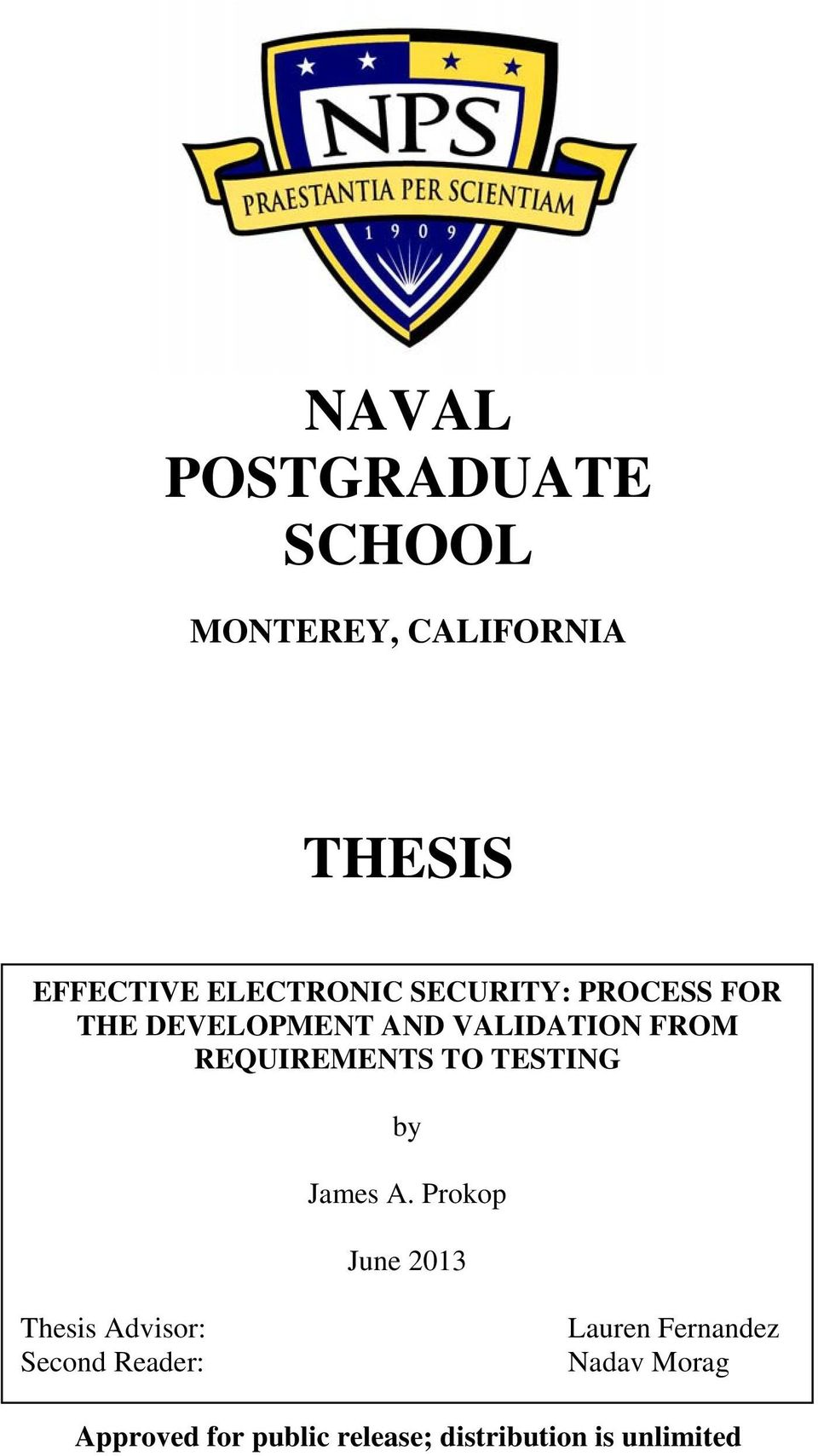 naval postgraduate school thesis search Naval postgraduate school monterey, california thesis approved for public release distribution is unlimited automating case reports for the analysis of.