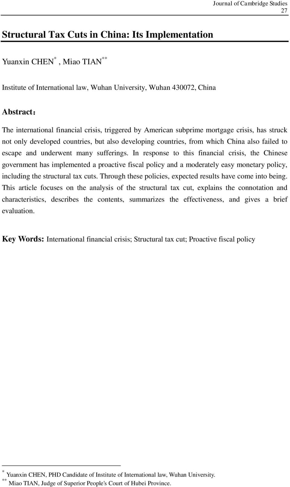 An analysis of challenges to the fiscal and monetary policies in the american economic crisis
