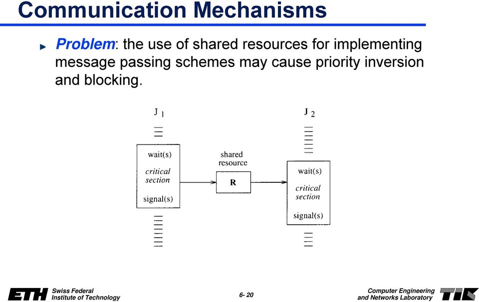 implementing message passing schemes