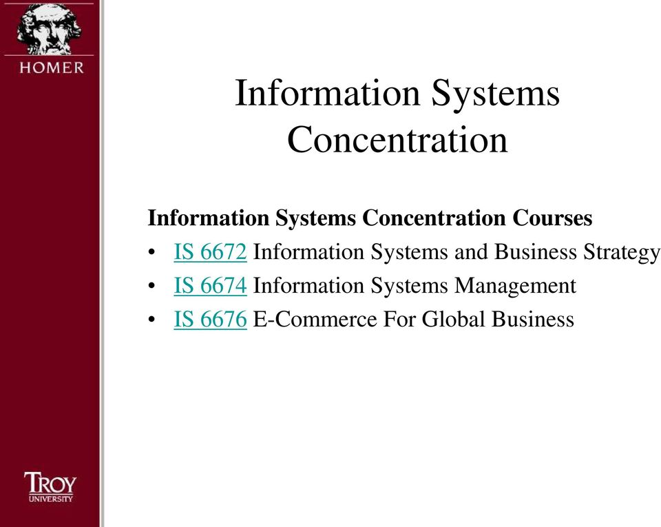 Systems and Business Strategy IS 6674 Information
