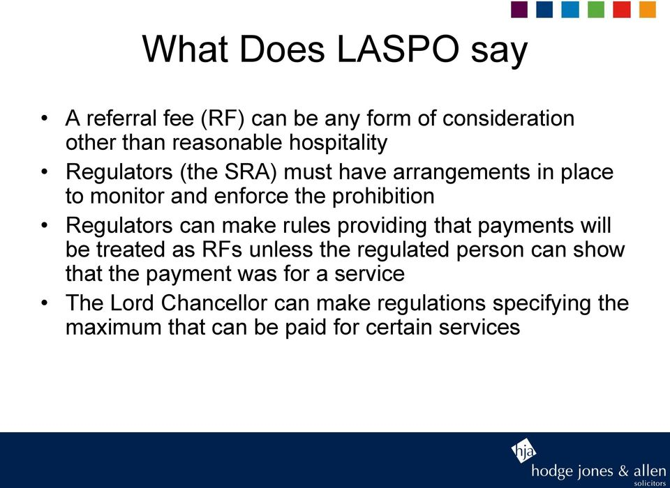 rules providing that payments will be treated as RFs unless the regulated person can show that the payment was